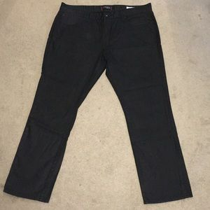 332c9f2f Men's black guess coated jeans size 40x32